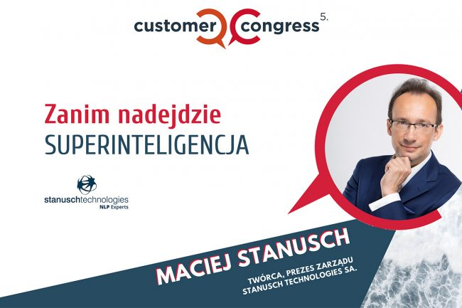 Maciej Stanusch na Customer Congress