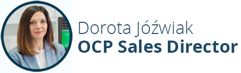 Dorota Jóźwiak - OCP Sales Director Stanusch Technologies